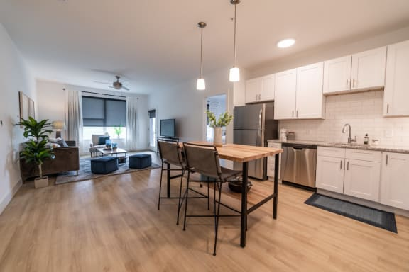 Picture of kitchen and flooring