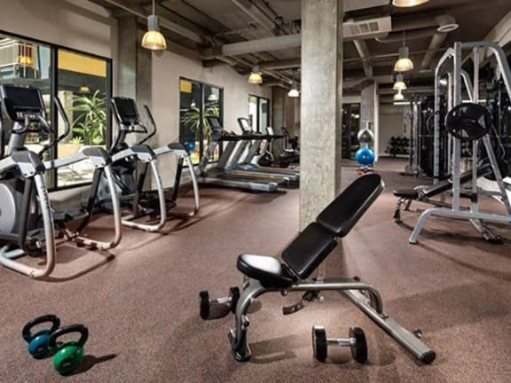 24-Hour State of-the-Art Fitness Center