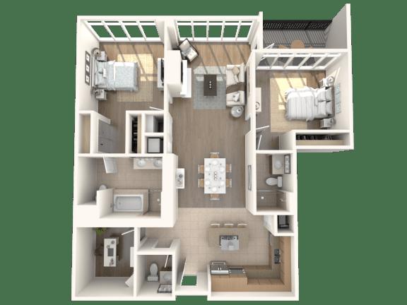 Bel Air Floorplan