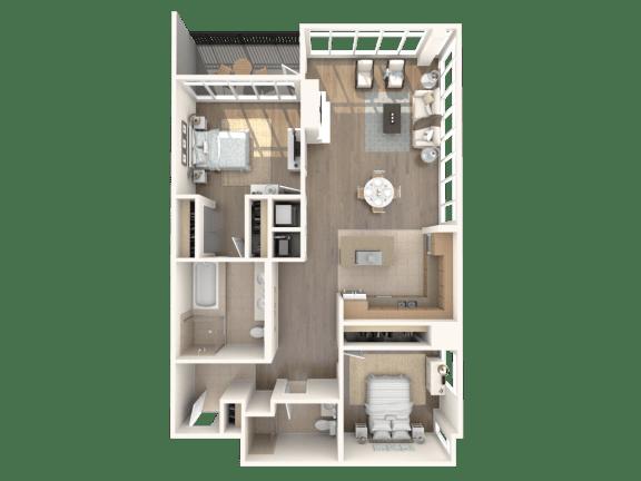 Irvine 1 Floorplan