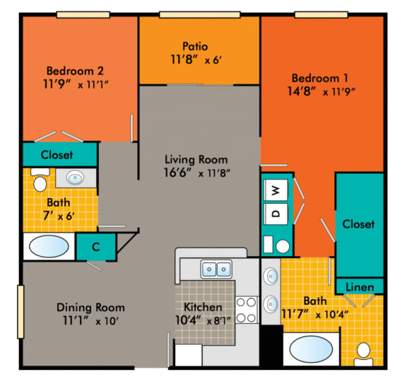 Two-Bedroom-Apartments-in-Durham-NC-for-rent-Adams-1024x978