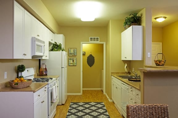 Fully Equipped Kitchen with Appliance Package