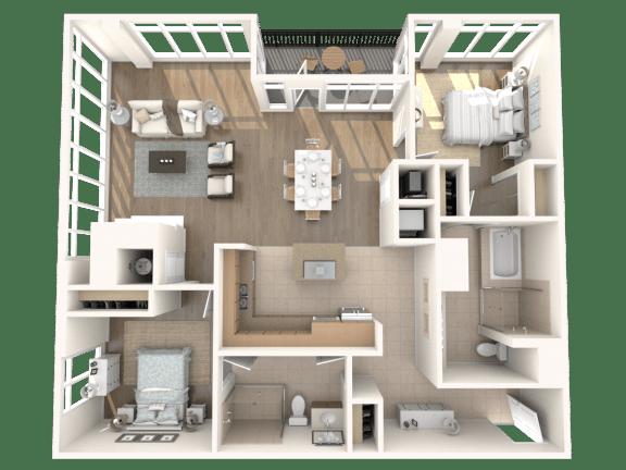 Palm Springs Floorplan
