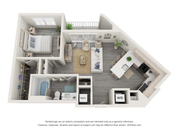 Floor Plan  1E.1