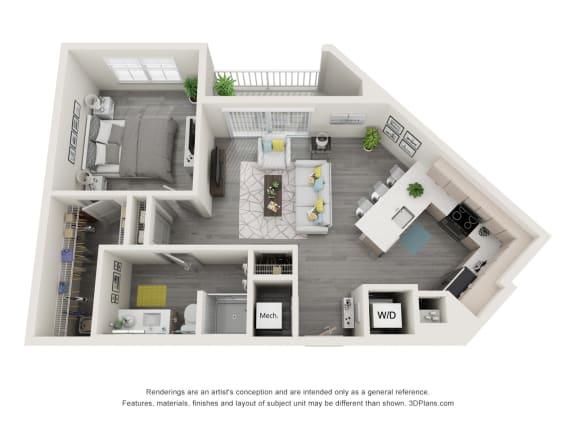 Floor Plan  1E.2