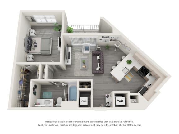 Floor Plan  1E.3