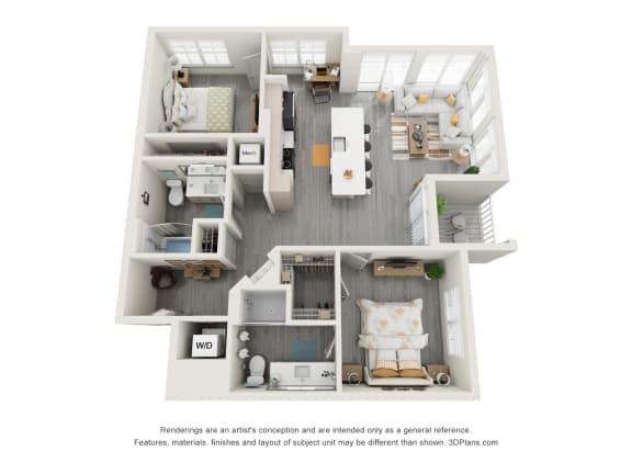 Floor Plan  2H