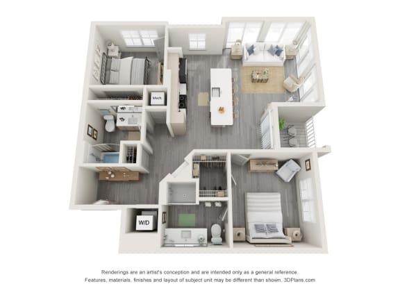 Floor Plan  2H.2