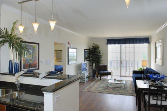 One Bedroom Living Room