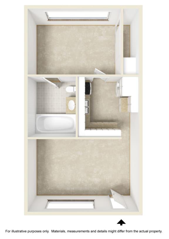 Monticello City Floor Plan