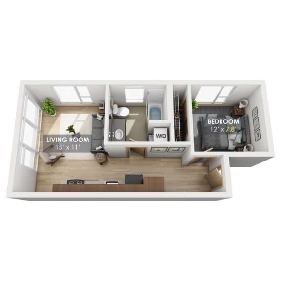 Boxcar Express Floor Plan