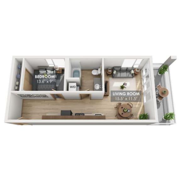 Boxcar Flatbed Floor Plan
