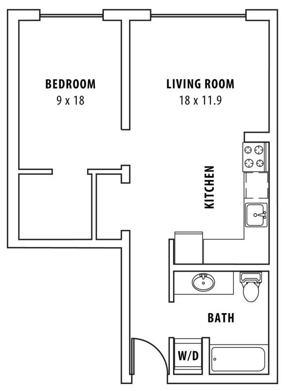 Boxcar Brakeman Floor Plan