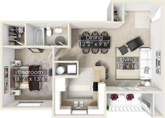 Four Lakes Huckleberry floor plan