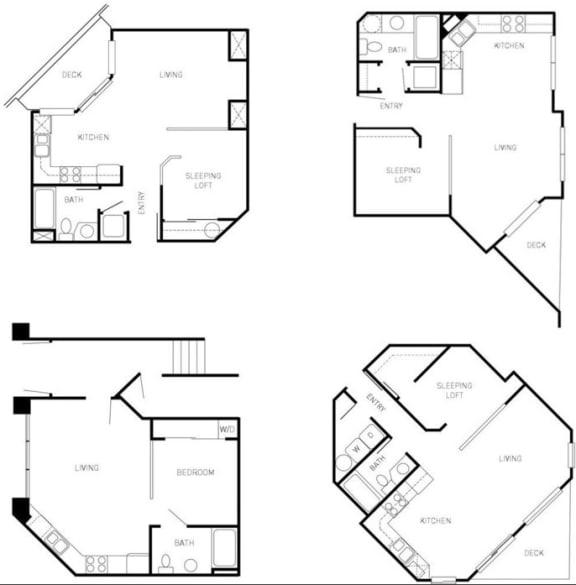 studios 2d floor plan