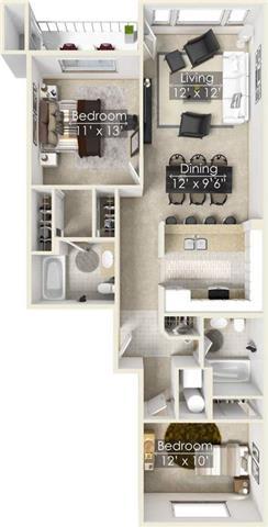Four Lakes Elderberry floor plan