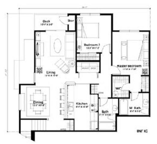 Four Lakes Horsetail floor plan