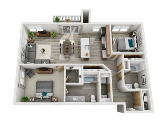 Floor Plan  Sitka II