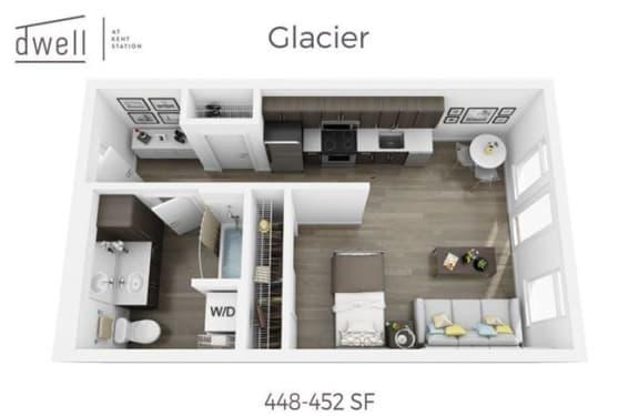 Floor Plan  Glacier