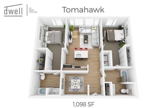 Floor Plan  Tomahawk