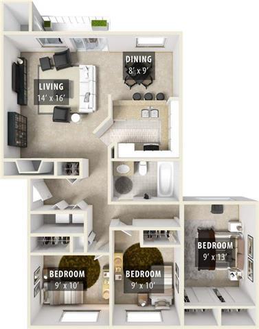 Floor Plan  NACHEZ
