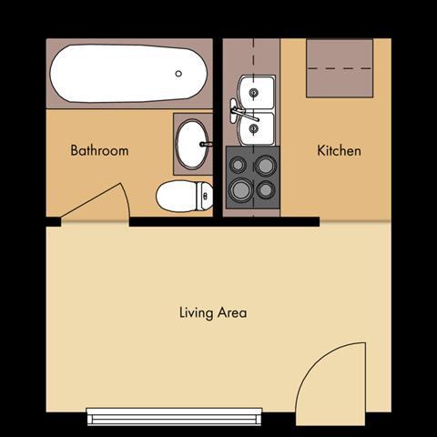 Monticello Retro Floor Plan