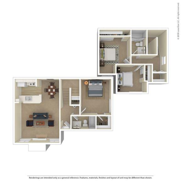 Floor Plan  Nisqually