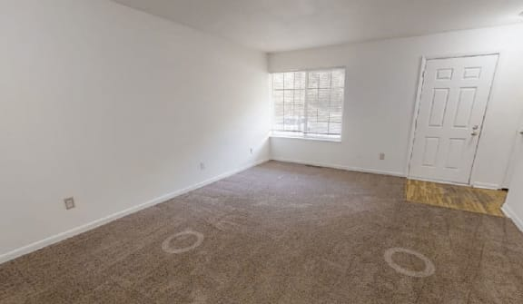 Spacious Living Room at Arbor Pointe Townhomes, Michigan, 49037-2040