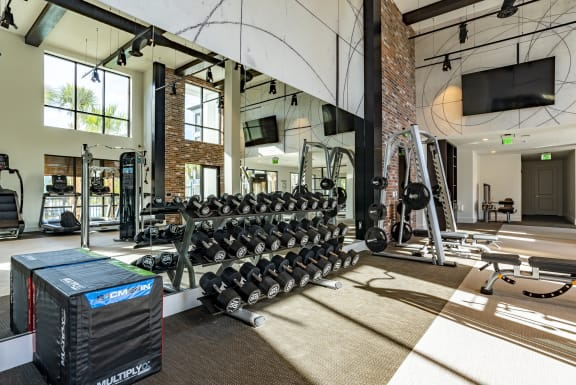 Club-Quality Fitness Center at Alta Longwood, Florida, 32750