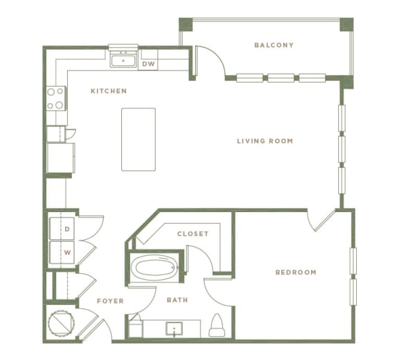 A3 Floor Plan at Alta Longwood, Florida