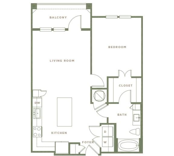 A4 Floor Plan at Alta Longwood, Florida, 32750