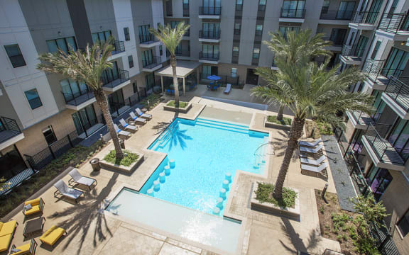 Alta City West Apartments Houston TX Pool