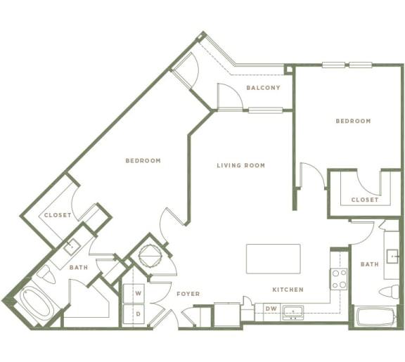 B4.1 Floor Plan at Alta Longwood, Florida