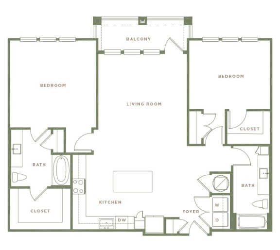 B5 Floor Plan at Alta Longwood, Florida, 32750