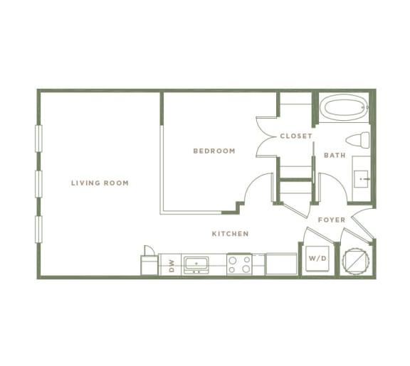 S1 Floor Plan at Alta Longwood, Longwood, FL
