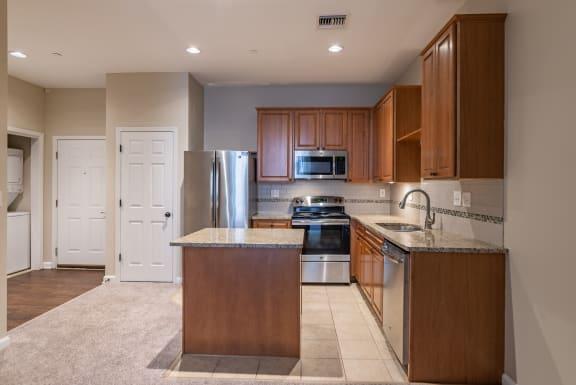 Refrigerator And Kitchen Appliances at Renaissance at the Power Building, Cincinnati, 45202