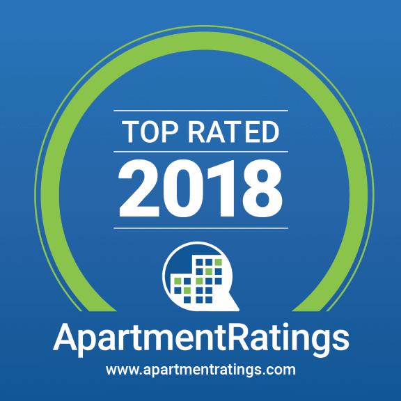 Apartment Ratings Award 2018 at Kingston Square Apartments, Indiana