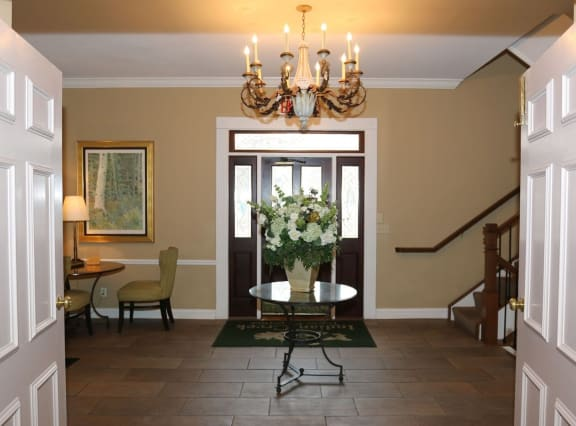 Entry To The Property at Indian Creek Apartments, Cincinnati, OH, 45236