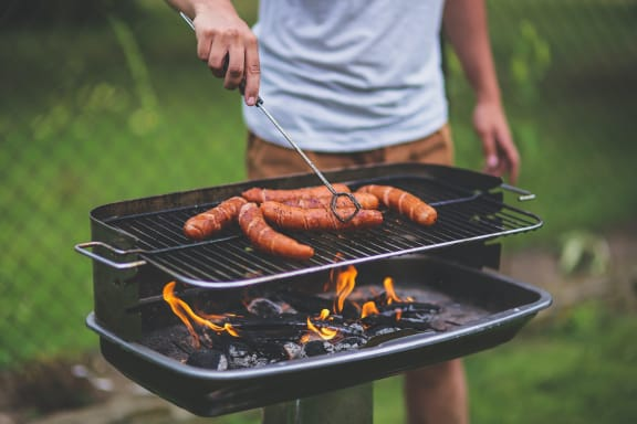 Grill at Lawrence Landing, Indiana, 46226