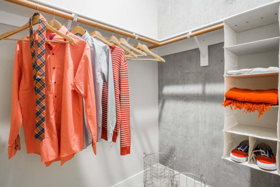 Ample Closets and Storage Space at The Marston by Windsor, Redwood City, CA
