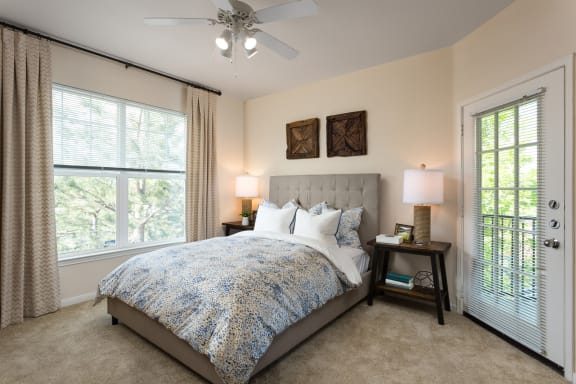 Private Balconies in Select Apartments at Windsor at Meadow Hills, Aurora, Colorado