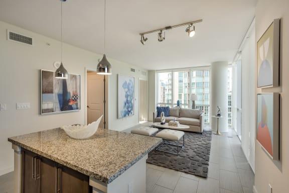 Floor-To-Ceiling Windows at Amaray Las Olas by Windsor, 215 SE 8th Ave, FL