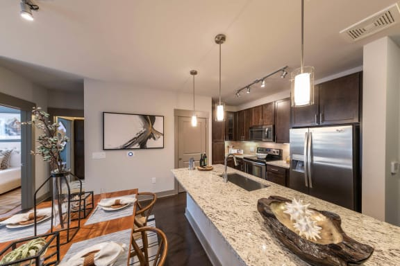 Fully Equipped Kitchen at Windsor Old Fourth Ward, 30312, GA
