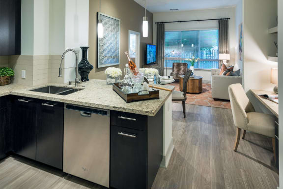 Open layout apartments at Cannery Park by Windsor, San Jose, CA