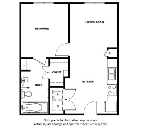 Floor Plan  A1 Metro West Floor Plan