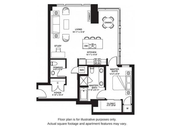 Floor Plan  A13 South
