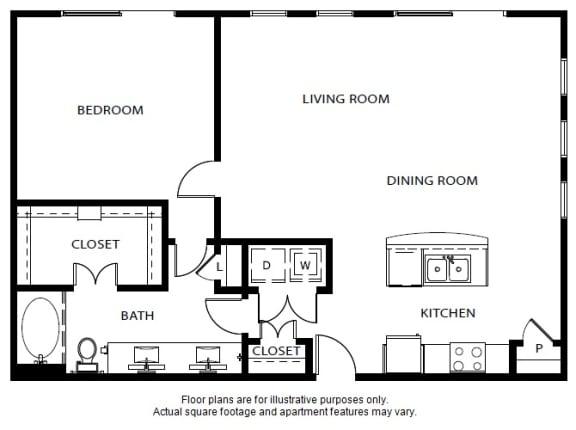 Floor Plan  A7 updated floor plan at Windsor Metro West, Plano, TX
