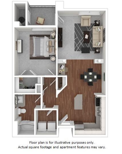 Floor Plan  Alstromeria floor plan at Windsor at Meadow Hills, Aurora, Colorado