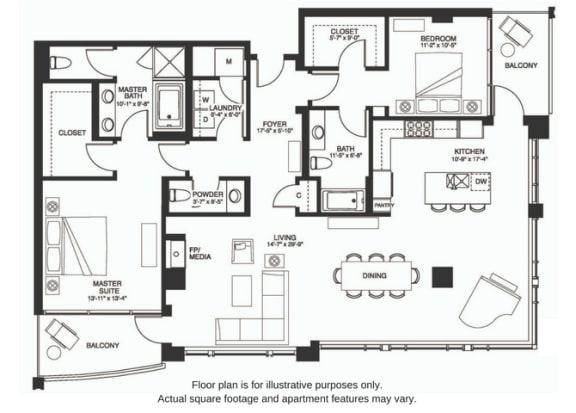 Floor Plan  B20 South