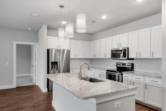 Modern Kitchens at Windsor Castle Hills, Carrollton, Texas